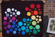 Quilts! / quilt designs that feature COLORs GONE WILD!