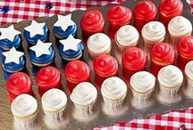 4th of July  / patriotic crafts, with some summer ideas thrown in for good measure. / by Vintage Umbrella