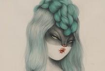 illustration / by Priscila Perassi