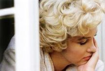 Marilyn / I think she is probably the most beautiful woman I have ever seen and there is tragedy and mistique in her life that keeps her on my favorite celebrity list. / by Janie Qualls