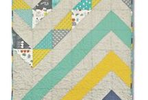 CHEVRONS / by Pink Chalk Fabrics - Modern Quilt Fabric and Sewing Patterns