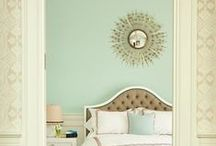 Paint Colors / Beautiful paint colors for livening up the color in your home.