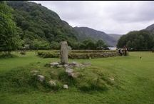 Glendalough Wicklow - outdoor wedding in stunning natural beauty, Ireland  / I cannot think of a place more connected to Ireland's rich history then Glendalough in Co. Wicklow. Glendalough combines extensive monastic ruins with a stunning natural setting in the Wicklow Mountains. Can you think of a more amazing setting for your Irish wedding photos? Wedding ceremonies are possible on the stunning grounds of the Glendalough hotel