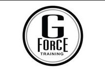 G Force  Home Training / For G Force Training's website and visual brand identity creation, we flexed our mental and creative muscles at U2R1 to craft a motivational and enabling online space that encouraged potential clients to start a fit and healthy lifestyle that brought the personal trainers at GForce to their homes.
