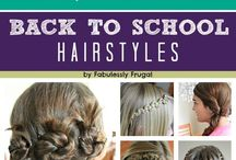 Medium/Short Hairdos / Medium and Short easy hairstyles for school! / by Colleen 💕🐈