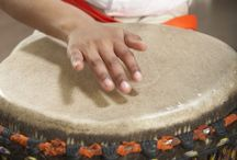 Drumming / Drumming sets me free and ties me to the earth. / by Claudia Ehli