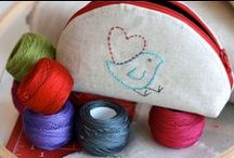 VALENTINES DAY Craft with Fabric / DIY crafting with fabric and sewing supplies.