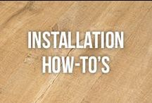 Installation How-To's / All your #DIY #guides! With wonderful #pictures that show you step-by-step how to do installations. Find all of our tutorials at: http://www.slideshare.net/Bestlaminate #homeimprovement #remodel #installation #laminateflooring #flooring / by Bestlaminate