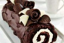Food ROLLED CAKES