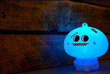 Mood Lights / Beautiful colour changing mood lights by Mathmos.
