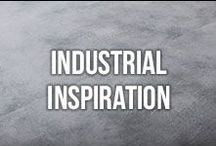 Industrial Decor Inspiration / Love the industrial design movement? So do we! Grab some inspiration from this collection of industrial inspired decor and design.