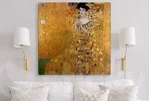 Art & Home / Inspired by famous artists, decor for you! Follow this board and our new blog series focused on art, history and home decor.