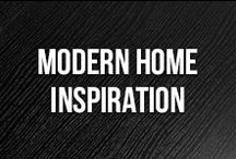 Modern Home Inspiration / Love clean lines, interesting accents and modern looks at home? This board is for you!