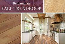 Fall Trend Book - 2015 / Fall is here! Check out our hottest trends and newest flooring styles to inspire your home decor with the season. Fall In LOVE with new floors!
