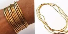 My gold necklace/bracelet