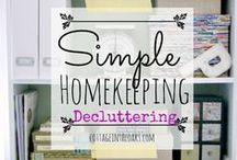 Clean Up & Organize / Home Cleaning and Organizing tips and spaces.