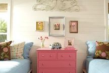 Kids Spaces / Decorating and rooms for kids. / by Michelle Roy