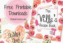 Printables / by Michelle Roy