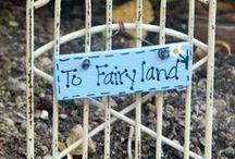 Fairy Gardens / Miniature gardens. / by Michelle Roy