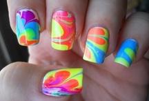 everything nails / painted nails, nail polish, etc.