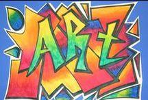 ART✎... GRAFFITI & MURALS