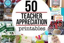 Teacher Appreciation and Teacher Gift Ideas / Teacher Appreciation and Teacher Gift Ideas