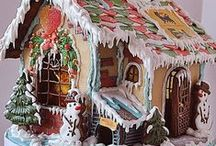 GINGERBREAD HOUSES ... plus