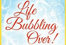 Life Bubbling Over! cathyzpeek.com / Life Intersecting with God's Unspeakable Joy! Life is fragile...live every second to the fullest while remembering God is in control.  Allow His love to bubble over and flow in the midst of the good, the bad, the ugly, and the wonderful.  Let's live it! Love it! Laugh at ourselves! Be gentle with others!  Breathe in every moment of life and claim JOY...no matter what!