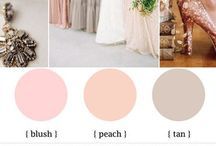 The Wedding: Colour Schemes / by Heather Murphree