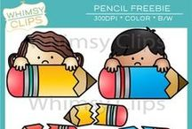 """Free Clip Art from Whimsy Clips / Free high-resolution clip art from my premium clip art shop """"Whimsy Clips"""""""