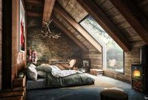 ATTİC ROOM / Different and nice attic room photos are here !..