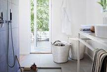 KORBO Bathroom Inspiration / Bathroom storage, laundrybasket, Badrumsförvaring  Tvättkorg