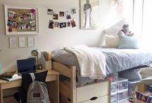 Dorm Decor / Dorm Room Decor and Organizational Ideas