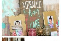 Mermaid Theme Party and Shower Ideas