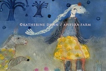 My Art  / I paint, draw and write supported by the muses at Apifera and all of nature. My main site www.katherinedunn.us has photos and art.