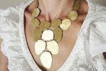 necklaces I make on etsy