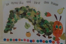 K- preK THEME : HUNGRY CATERPILLAR maternelle