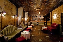 Speakeasy/Prohibition Party / Inspiration for my aunt's 70th birthday party. Vintage prohibition era imagery, festive drinks, and modern twists.