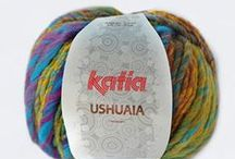 Autumn · Winter Yarns / Lanas e hilos Katia multicolor, básicos, naturales y merinos de la temporada Otoño Invierno | Katia multicolor, basics, merinos and natural yarns and threads Autumn Winter collection