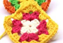 A Granny A Day / Patrones e ideas basadas en granny squares o cuadrados de ganchillo | Patterns and handmade ideas with granny squares