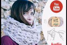 Knit and Crochet Videotutorials / Nuestros nuevos vídeos para #tejer paso a paso prendas y seguir aprendiendo punto y #ganchillo.   Our new step by step tutorial #videos for you to continue learning how to #knit and #crochet.