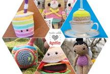 Amigurumi makers / #Amigurumi makers & Katia Amigurumi 100% Cotton