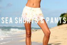 ⋅ SEA ⋅ SHORTS ⋅ & ⋅ PANTS ⋅ / Shorts and Pants available at San Lorenzo Bikinis
