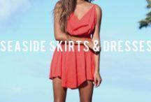 ⸰SEASIDE SKIRTS & DRESSES° / Skirts and Dresses available at San Lorenzo Bikinis