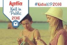 Katia Knit in Public 2016 / Join our Instagram #contest! Upload your best pic #knitting or crocheting in public, mention @KatiaYarns + #KatiaKiP2016 | Concurso Instagram Katia Knit in Public. Comparte tu mejor foto tejiendo en público, menciona @KatiaYarns + #KatiaKiP2016