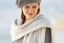 Must-knits: 4 Seasons Shawls / Whether it's in #crochet, in knit, made in one colour, in a combination of various tones or in 'magical' degrades… the #shawl is an ideal accessory for any season of the year.