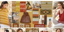 Ethnic Earth Colors / The exoticism of the most distant cultures espresse its essence through beautiful color combinations. Warm shades throughout the earth tones palette: ochres, oranges, reds and maroons tinged with subtle black nuances and tinged with beige to balance and enrich them with warmth and elegance. Natural looks, linens and cottons define the style where spicy and exotic colors are combined with other sensual, bold and warm shades.
