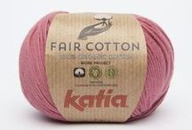 Sustainable Projects / Katia yarns with a history and sustainable projects behind them.
