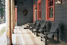 Patio, Porch and Deck / Inspiration and ideas for deck, porch and patio design and furnishings. / by Susan Cohan