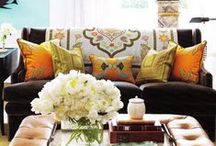 Decorating / ideas for ecclectic home decor and house style including looks for small spaces and redos